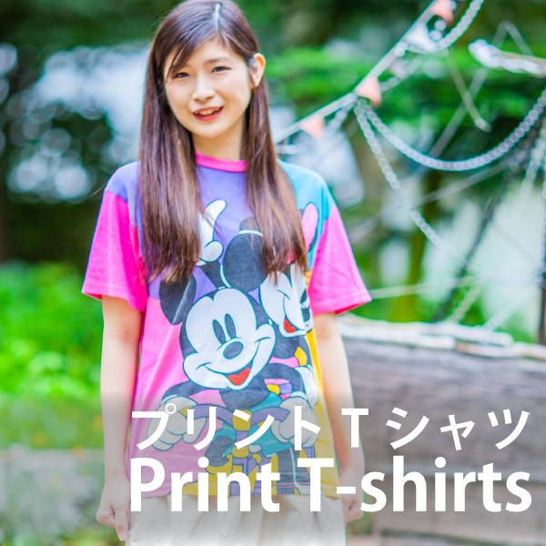 レディースピックアップアイテム プリントTシャツ