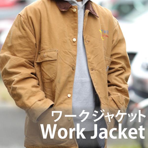 今注目のメンズピックアップアイテム ワークジャケットの商品一覧
